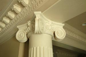 greek columns and capitals